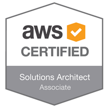 Image result for aws certified solutions architect badge